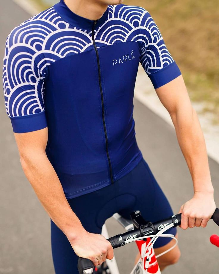 Cycling Kit, Japanese Wave Jersey www.parle.cc