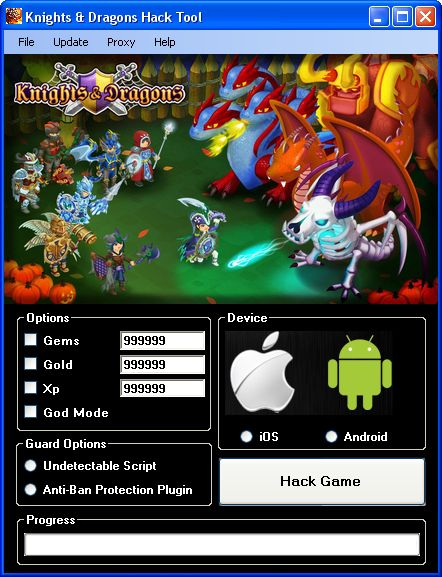 Download Knights and Dragons Hack Tool Working Cheats Free