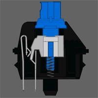 MOTOSPEED Inflictor CK104 NKRO RGB Backlit Mechanical Gaming Keyboard Outemu Blue Switch