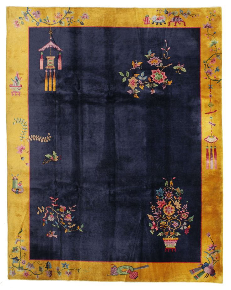 Chinese Antik: Art Deco 1920 ANTD2 carpet from China - CarpetVista Collectible