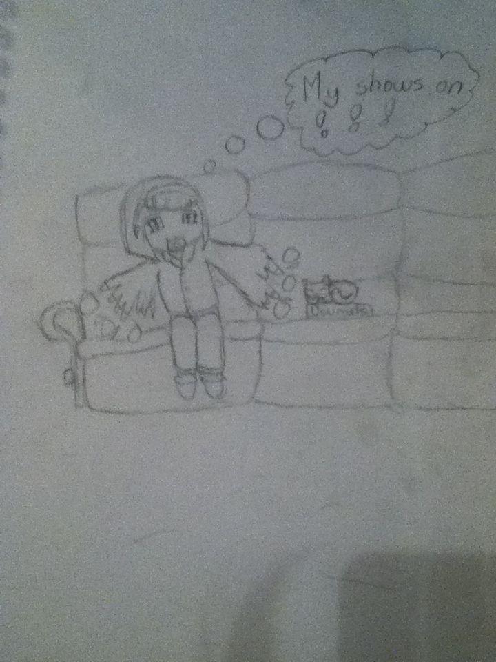 I drew this cute chibi girl