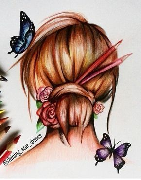 25 Best Ideas About Girl Drawing Easy On Pinterest