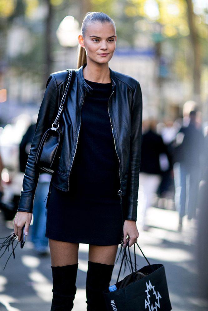 Kate Grigorieva Model off duty street style pfw PFW 2016 ss 2016