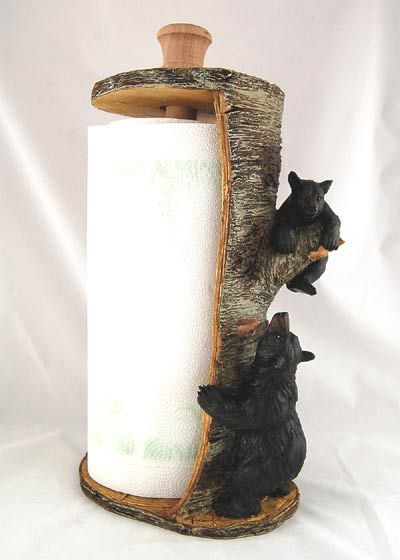 how to make your papertowel holder 'lodgey'
