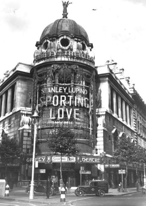 The Gaiety Theatre at Aldwych,London in 1934. Demolished in 1956.
