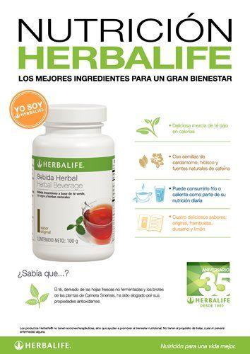 Afiche Nutrición Herbalife - Bebida Herbal