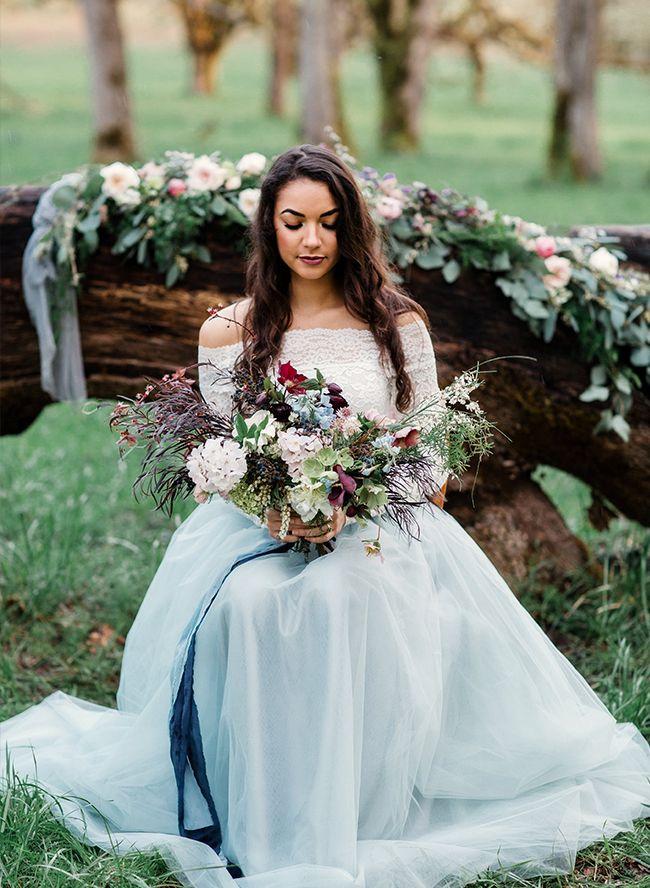 Best 25+ Light blue wedding dress ideas on Pinterest | Light blue ...