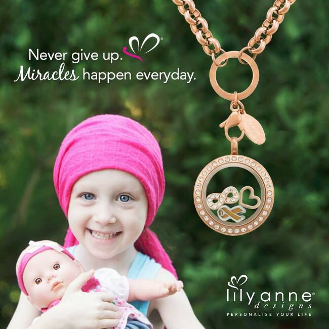 {Never give up}   Miracles happen everyday.   www.lilyannedesigns.com.au/meganelliott   #LilyAnneDesigns #PersonalisedLockets
