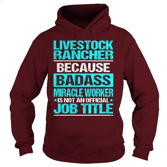 Awesome Tee For Livestock Rancher - #funny t shirts for men #white hoodie  mens