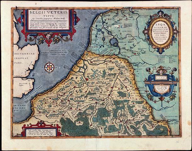 West-Friesland op oude kaarten