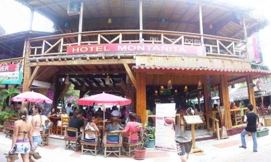 Vida nocturna en 2 ciudades de Ecuador, Quito y Montañita Diversión, discotecas y bares en Montañita: En Bar y Hotel Montañita