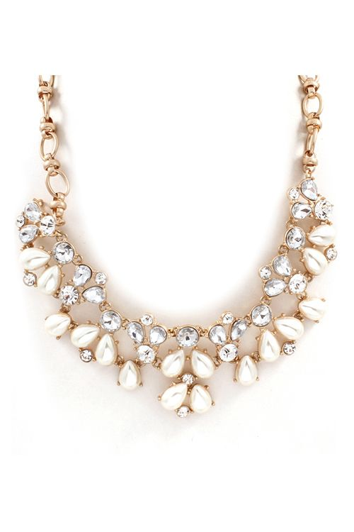 Perfect with the baseball sweater I just tagged!!!! Nelly Necklace on Emma Stine Limited