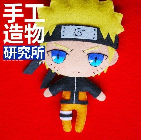 Naruto Uzumaki Halskette Anime Cosplay DIY toy Doll Costume Cute Janpan material $17.10
