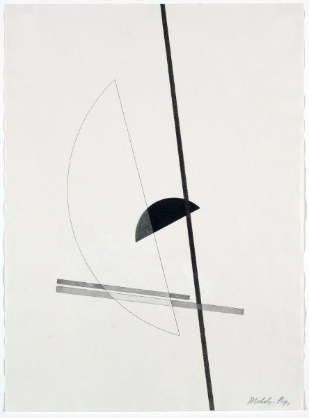 Laszlo Moholy-Nagy - Construction, 1923.