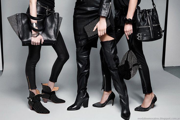 Accesorios de moda otoño invierno 2015: botas, zapatos, carteras, bolsos y sobre invierno 2015 María Cher.