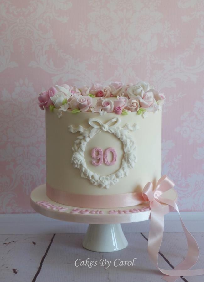 90th Roses by Carol