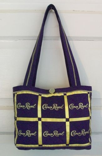 Quilted Crown Royal Purse Handmade | eBay