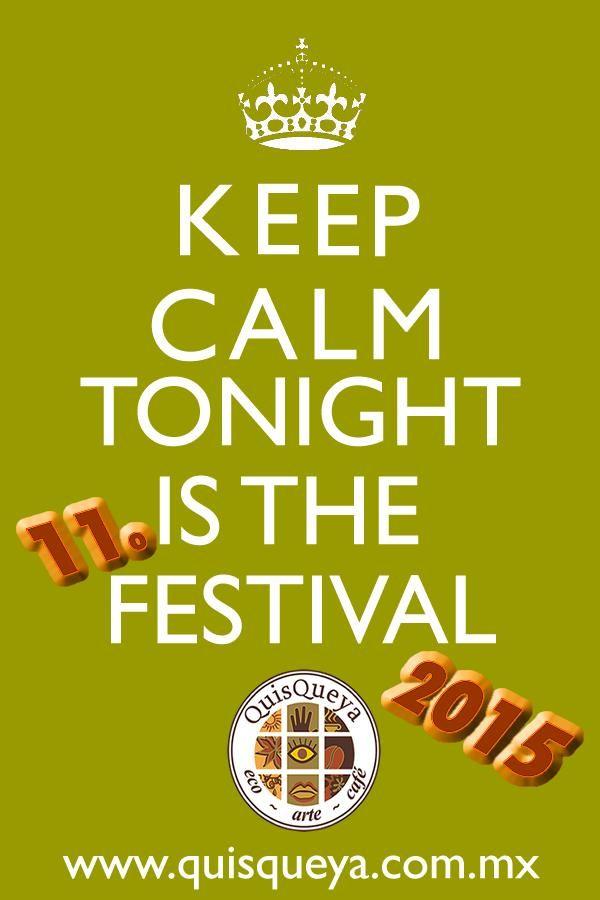 11o. festival ecológico y cultural QuisQueya. ¡Muy bienvenidos esta noche a partir de las 9pm!