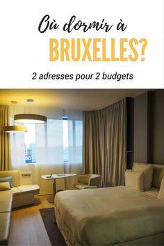 Où dormir à Bruxelles? Deux adresses pour deux budgets, un hôtel et une auberge de jeunesse