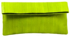 Maiden Voyage Fold Clutch - Lime. Comes in so many great colours.    $125.00. Available now at www.dollface.com.au