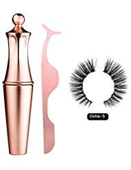 Aitravel magnetischen Eyeliner gefälschte Wimpern Kit wasserdicht langlebig geringes Gewicht 3 …   – Beauty