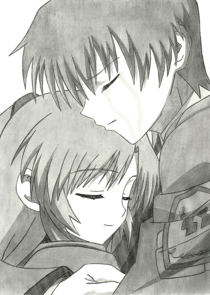 Dibujos Anime: Otonashi Y Kanade - Angel Beats By Alexanderd9j