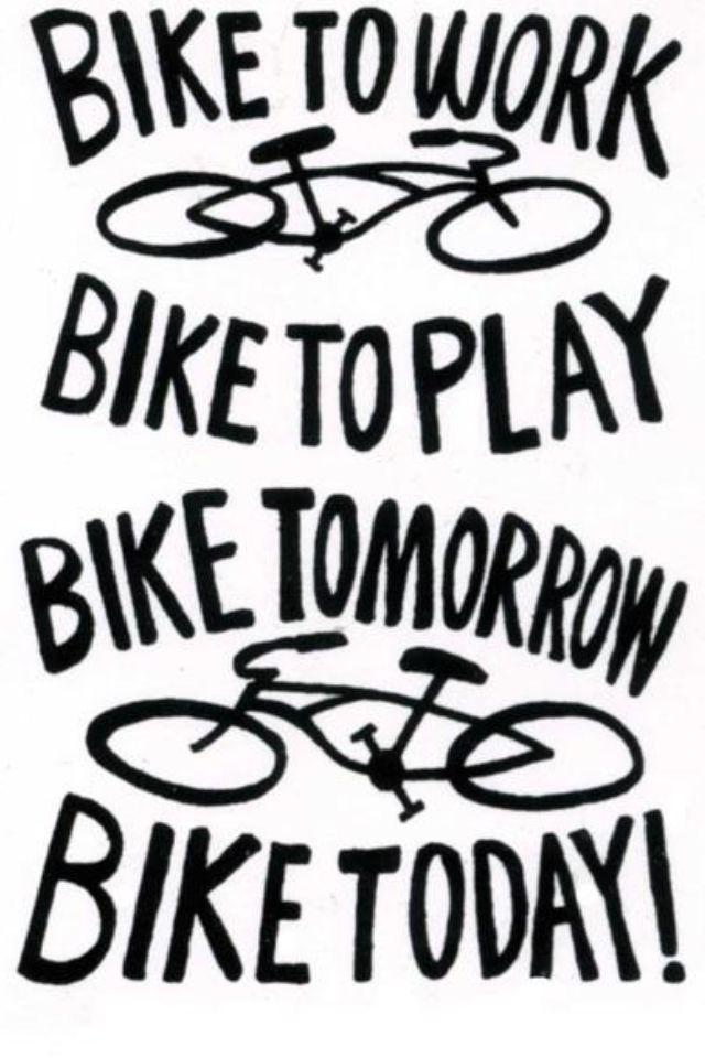 I rode my bike to work TODAY! 6miles round-trip