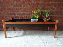 Weiteres - Teak Blumenbank Blumenkasten Pflanzkasten 60er - ein Designerstück von OberSchick bei DaWanda