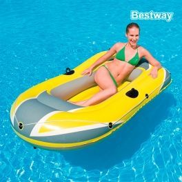 Be amazed and enjoy this summer with the great Summer individual inflatable boat! Ideal for beaches, rivers, swamps, reservoirs, etc.