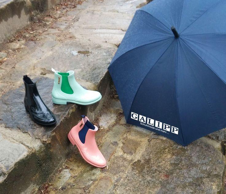 Dance in the rain! Mit diesen wünderschönen Gummistiefeln von Bockstiegel kein Problem.