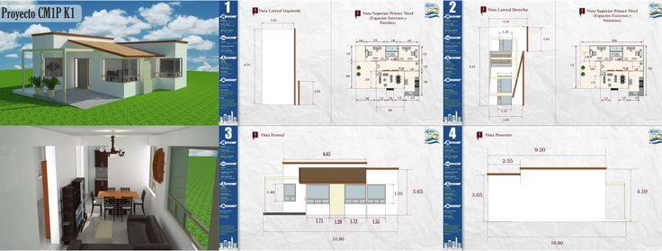 Mejores +25 imágenes de Diseños y planos de Casas en Pinterest ...