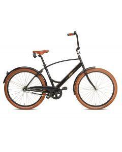"""Jopo Cruiser 26"""", 1-vaihteinen polkupyörä, musta"""