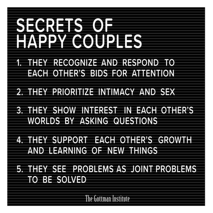 Dr Gottman S Extensive Research On Married Couples Has Revealed The Secrets To A Happy Relationship Happy Relationships Marriage Quotes Healthy Relationships