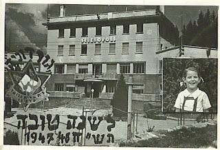 """Between 1945 and 1948, in Selvino, pretty town of Bergamo, in Val Seriana, the architectural complex of """"Sciesopoli"""", opened in 1933 by the fascist regime as a mountain camp of the Sons of the Wolf and Balilla, was used as a refuge and center rehabilitation and education for 800 children orphaned Jews from all over Europe, survived the death camps and the Holocaust, most of which then moved to Palestine."""