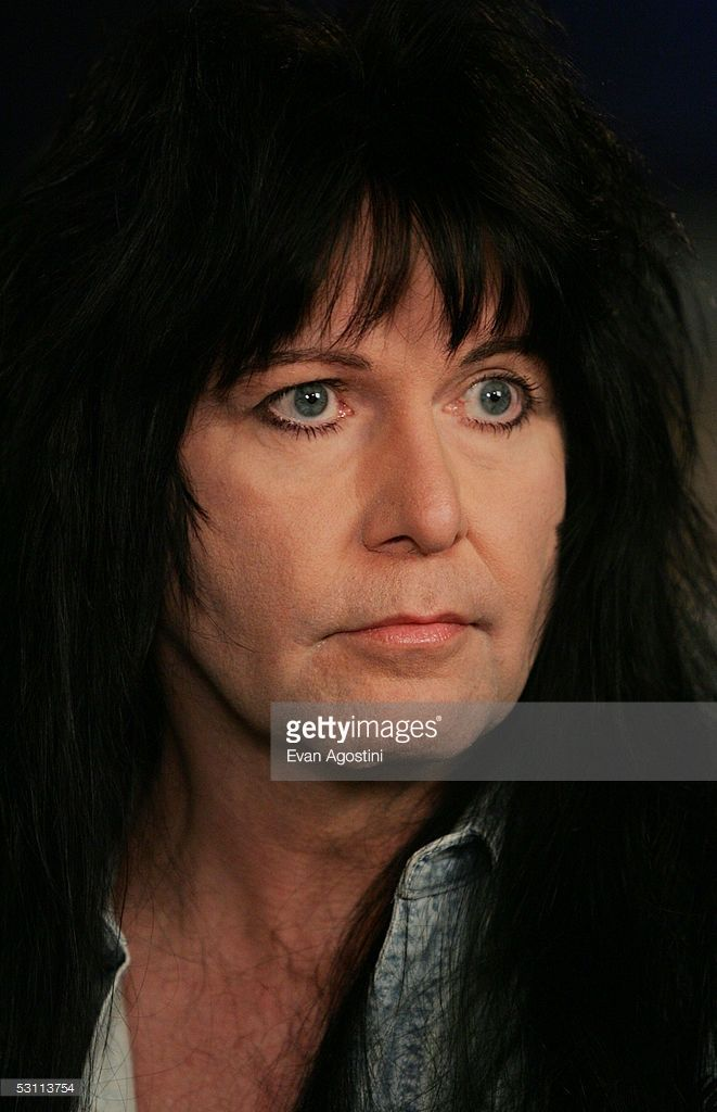 Heavy Metal musician Blackie Lawless from W.A.S.P. makes an appearance at VH1 Classic Studios June 21, 2005 in New York City.