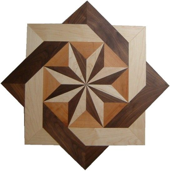 Wood floor inlay $189.00