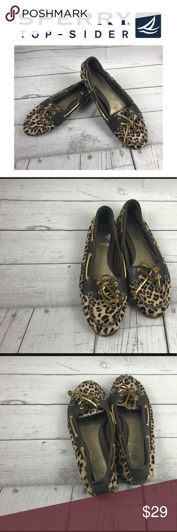 Sherry Top Sider Animal Print Shoes.  Sz 9M Sherry Top Sider Animal Print Shoes.  Sz 9M. These shoes are in real good shape.. Sperry Top-Sider Shoes Flats & Loafers