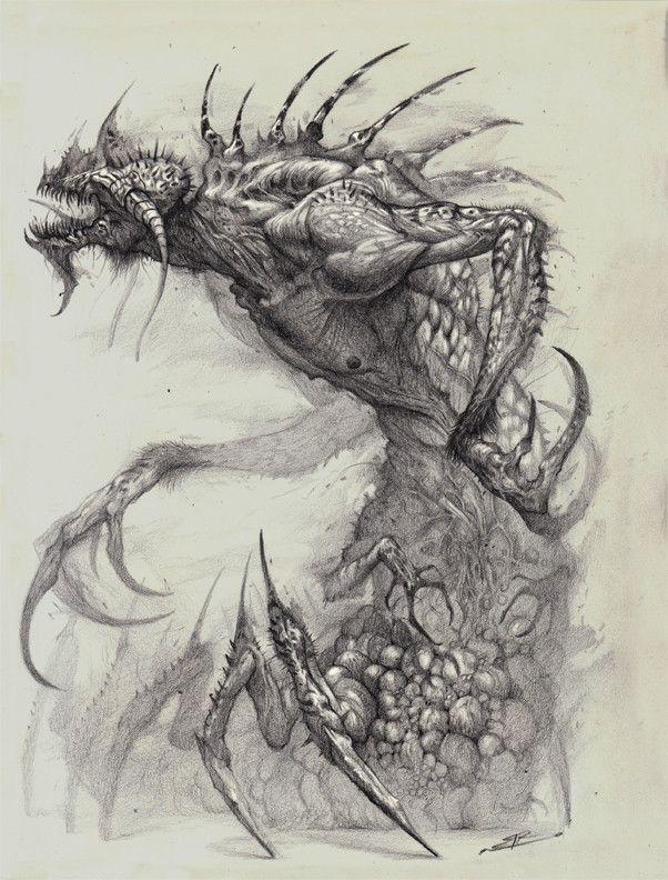 Alzeroth: The Demon of Lost Hope, Bobby Rebholz on ArtStation at https://www.artstation.com/artwork/X4qYR