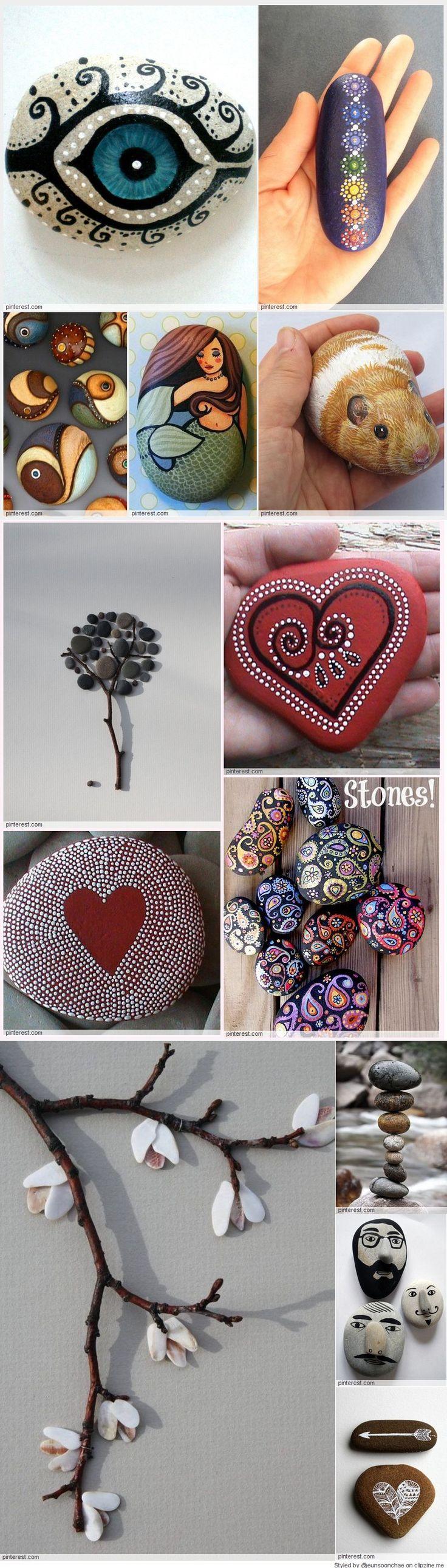❤~Piedras  Pintadas~❤  Art