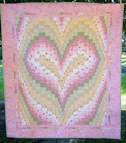 247 best BARGELLO QUILTS images on Pinterest | Bargello quilts ... : heart bargello quilt pattern - Adamdwight.com