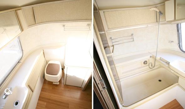 1972 Airstream Bathroom Camping Airstreams Pinterest