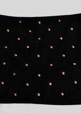 Kup mój przedmiot na #vintedpl http://www.vinted.pl/damska-odziez/spodnice-inne/10571274-cwieki-aksamit-spodniczka-mini-40