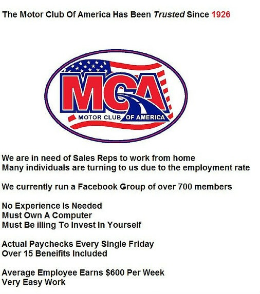 76 Best Images About Motor Club Of America Mca Tvc Matrix