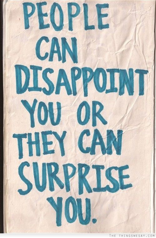 when people disappoint you - Google Search