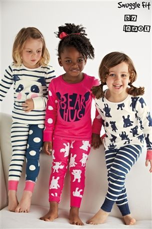 Buy Bear Panda Snuggle Pyjamas Three Pack (12mths-6yrs) from the Next UK online shop