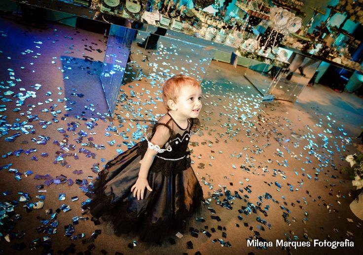 """Festa de dois anos da Bianca com o tema """"Bonequinha de Luxo"""":"""