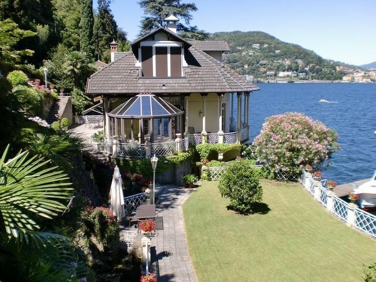 Majestic liberty villa on Lake Como, Italy – Luxury Home For Sale