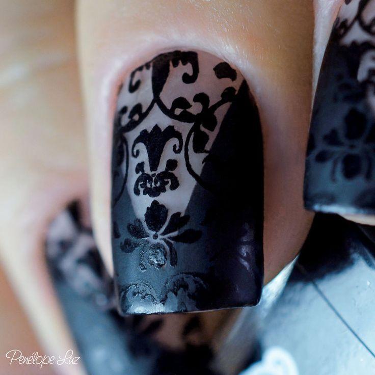 Nailpolis Museum of Nail Art | Nail Art Renda by Penélope Luz