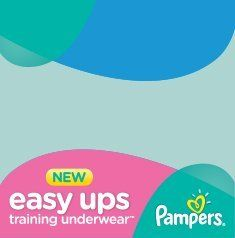 proud to use #PampersEasyUps