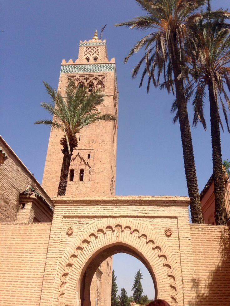 Marrakech meczet Koutoubia